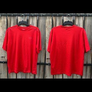 REEBOK RBK Men's Red Tees Shirt Size XXL